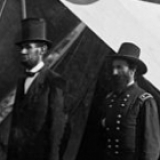 Lincoln, Pinkerton and McClelland at Antietam