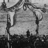 Fort Sumter - April 14, 1865 - Raising of the Old Flag